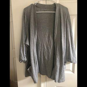 Sonoma size 3x grey cardigan